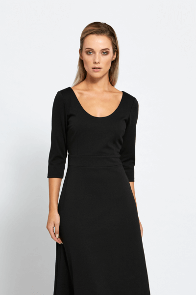 neat ellie black dress by by a girl
