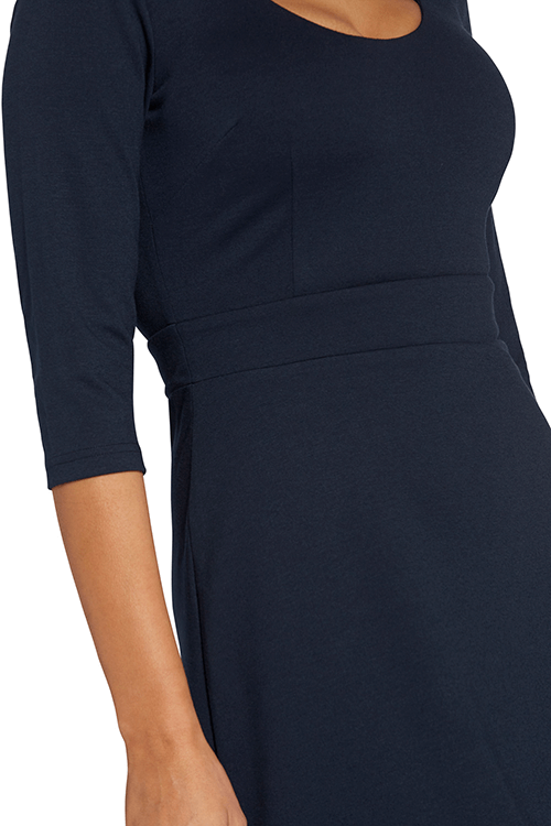 ellie navy blue dress